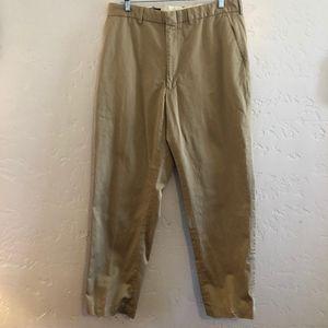 Polo by Ralph Lauren khaki slacks, size 36/32